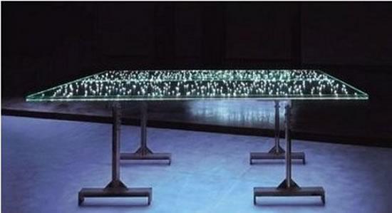 Led il tavolo illuminato la promenade blogzine di for Cielo arredi