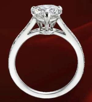 prezzo moderato una grande varietà di modelli goditi il miglior prezzo Cartier, anello di fidanzamento Solitaire 1895 | La ...