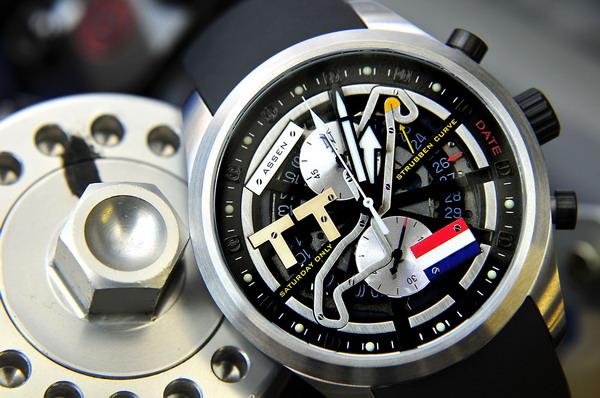 migliore selezione di prezzo competitivo moda di lusso TT Assen di Quarto di Miglio, orologio ossequio al Tourist ...