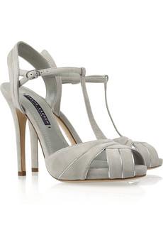Grey Peep Toe Shoes Uk