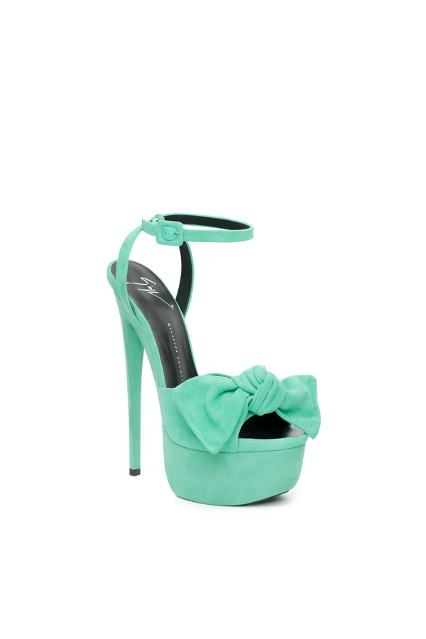 Scarpe Tacco Verde Acqua