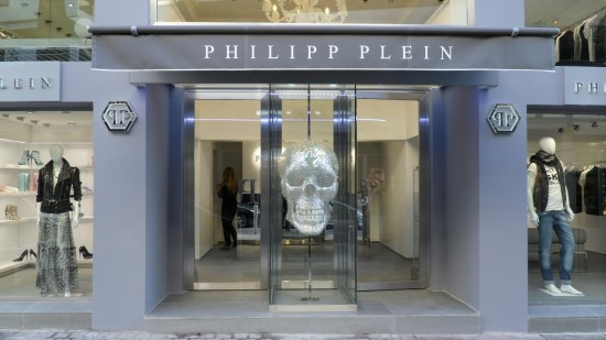 official photos 5266c 2e4cc Philipp Plein, nuova boutique a Cannes | La Promenade ...