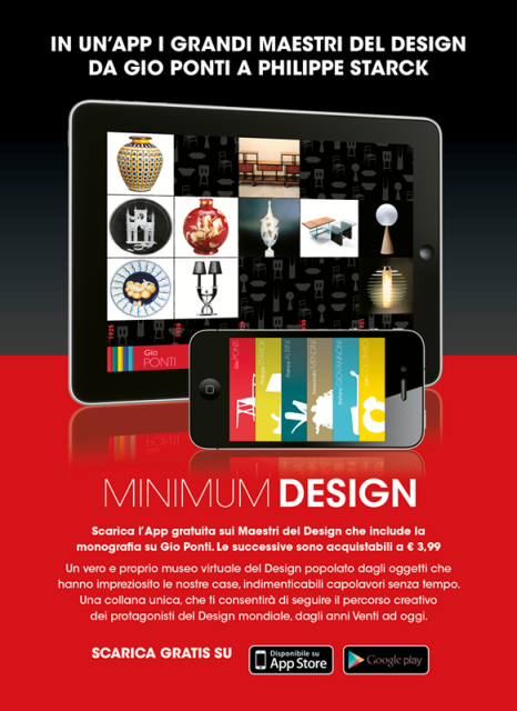 Minimum design scarica gratis l app sui maestri del for Grandi maestri del design