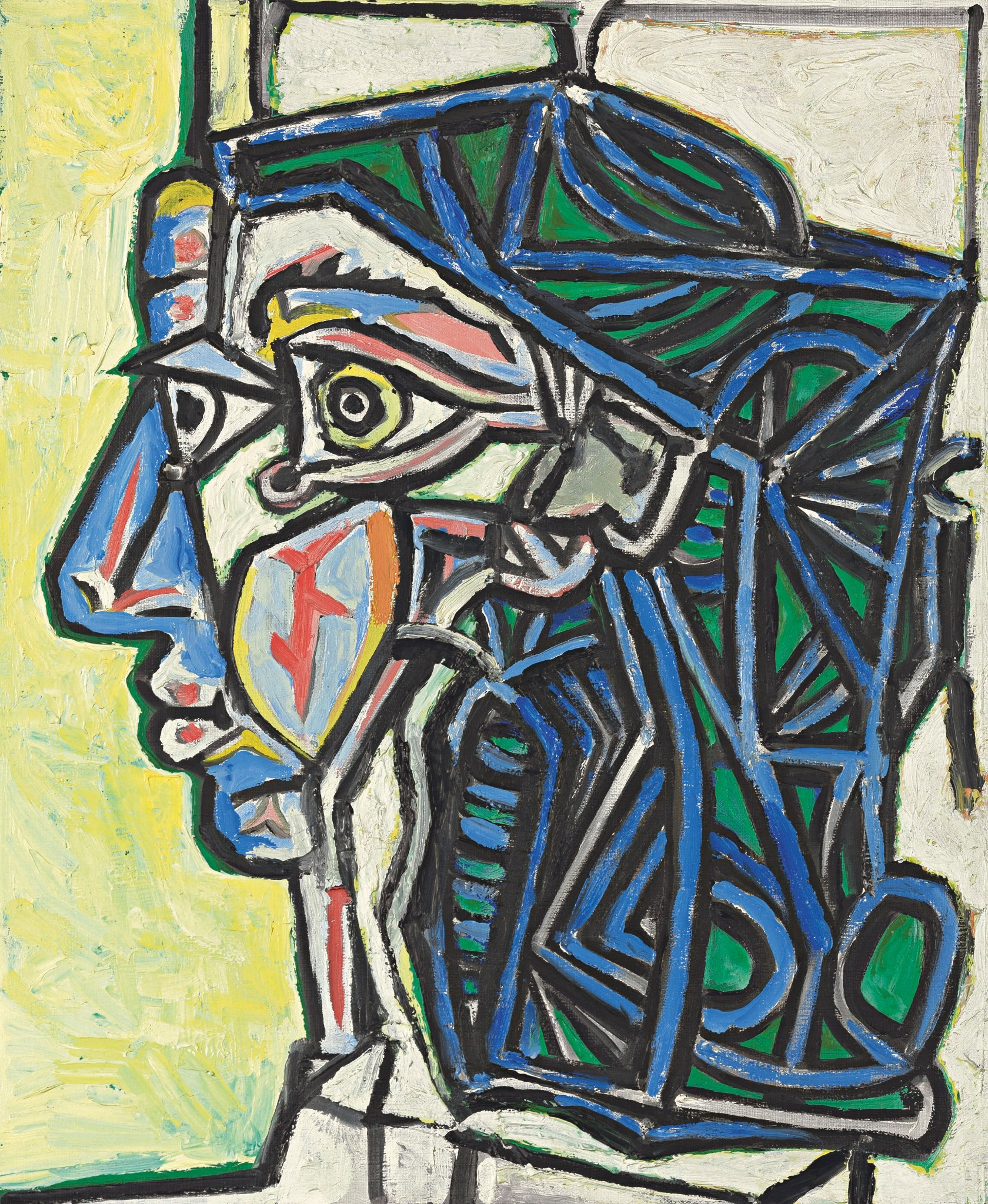Pablo Picasso S Painting Girl Before A Mirror Reflects His