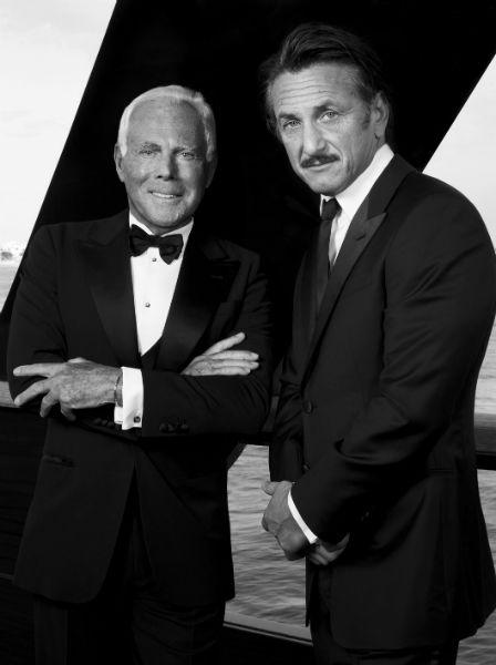Giorgio Armani and Sean Penn charity campaign-w600-h600
