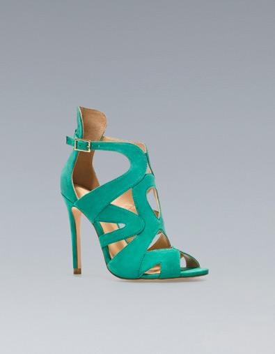 Colore La Promenade Verde Gladiator Dal Stile Sandalo Acqua Zara fW7Z4HOn