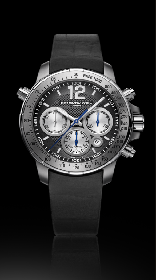 Nabucco Intenso 43MM, chronograph elegant and powerful of Raymond Weil
