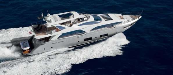 Azimut Grande 100 will be the largest boat on Rio Boat Show 2013