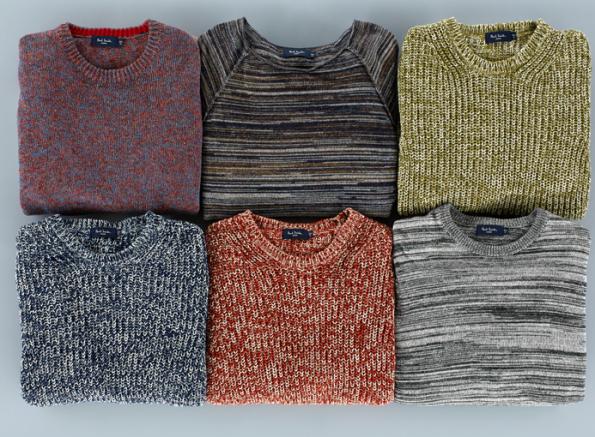 Paul Smith, new season knitwear