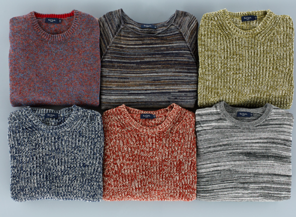 Paul Smith, new season knitwear
