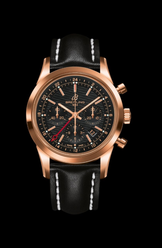 Transocean Chronograph GMT, ultra-practical luxury watch in limited editions by Breitling