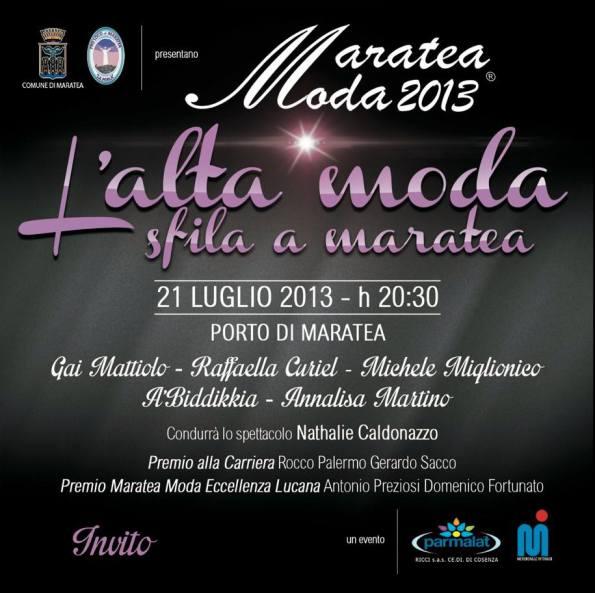 Locandina - Invito Maratea Moda