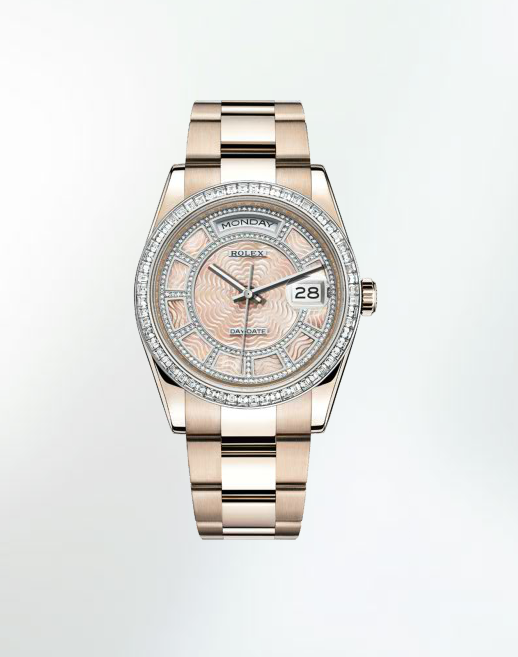 Oyster Perpetual Day-Date Sertie, nuovi orologi di lusso da Rolex