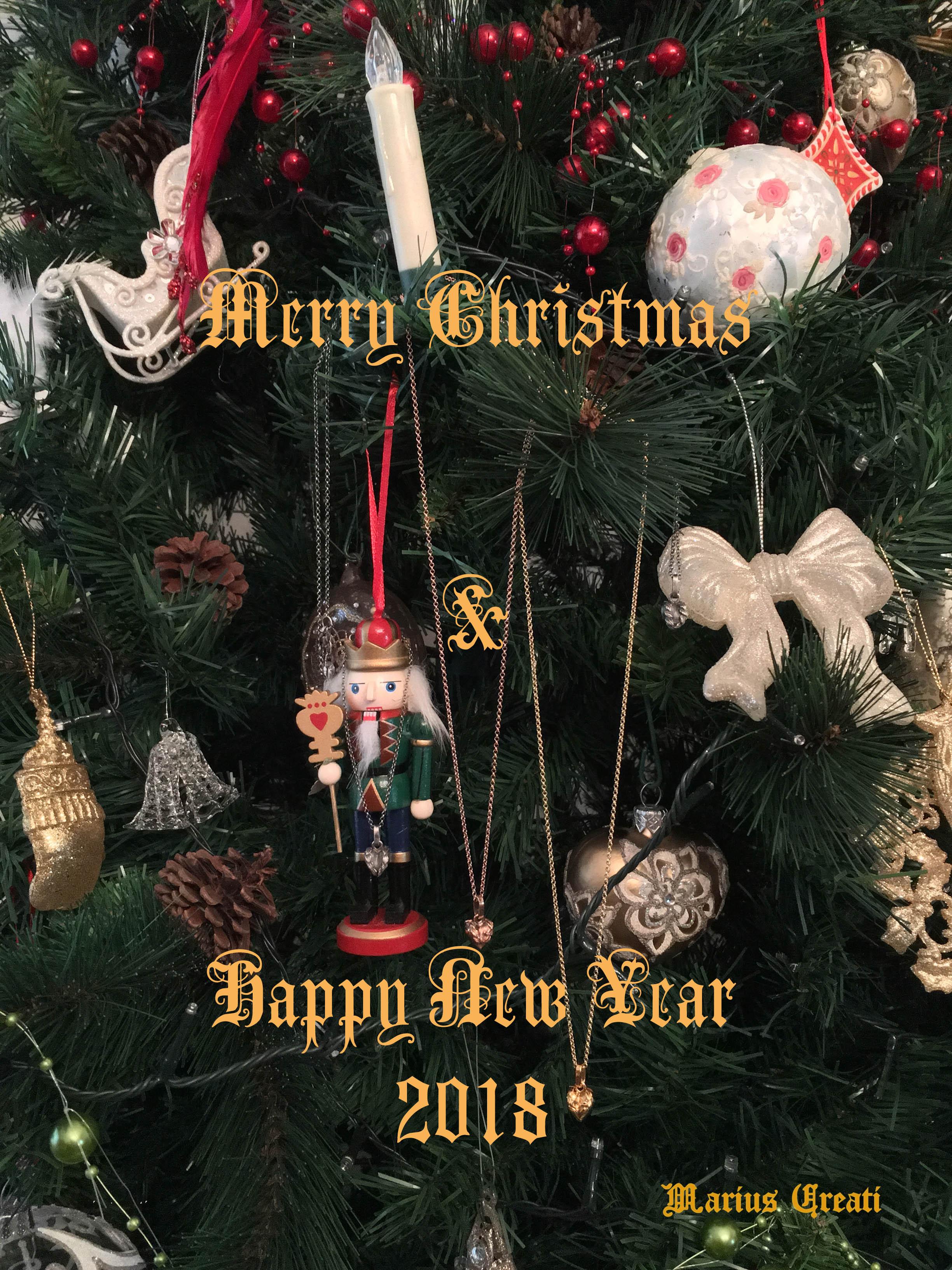 Happy Holidays 2017- Marius Creati