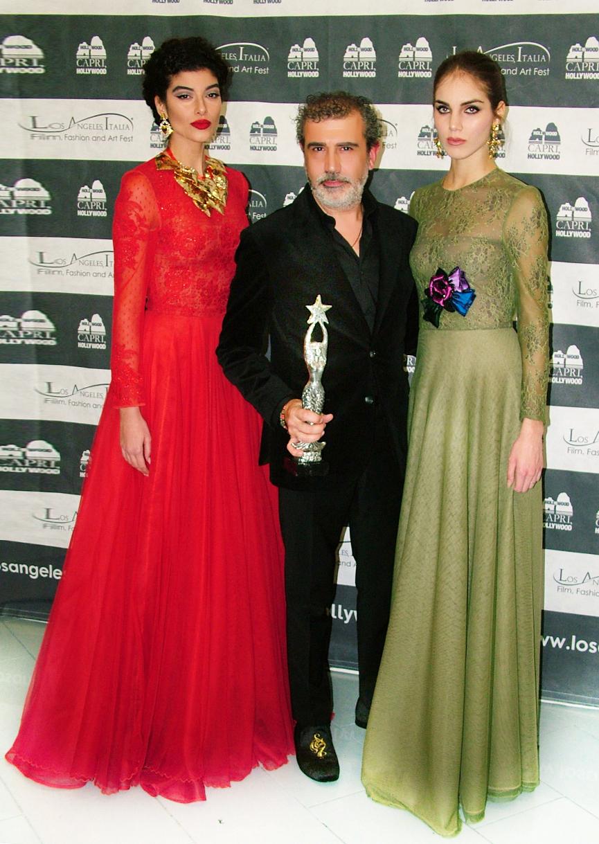 Michele MIglionico e le modelle.3
