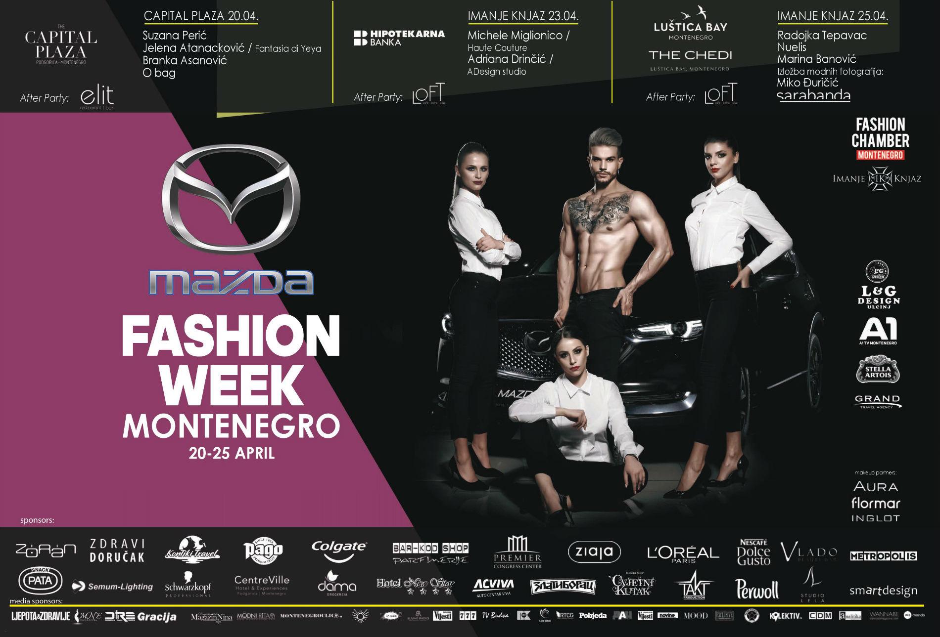 Locandina Mazda Fashion Week Montenegro-w1900-h1900